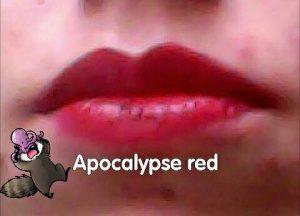 L'oreal lip paint matte tono 205 apocalypse red