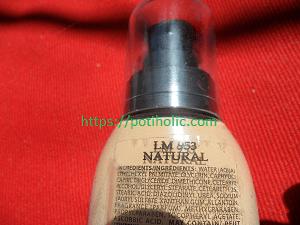 ingredientes INCI composicion de l.a. girl liquid perfecting