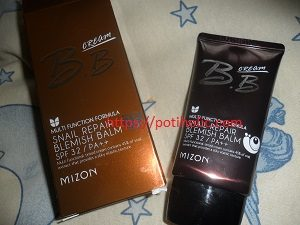 mizon snail bb cream