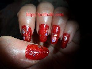 foil holografico para nail art comprado en aliexpress