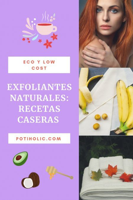 exfoliantes naturales recetas caseras