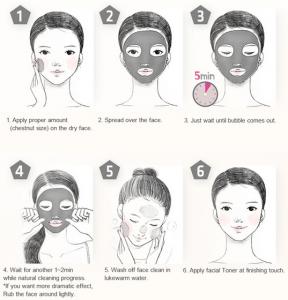 tutorial para aplicar la mascarilla