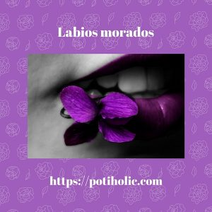 labios morados purple lips