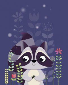 raccoon pantone 2018 ultra violet