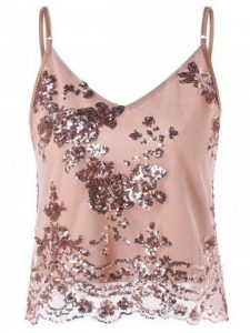 sparkly sequins top