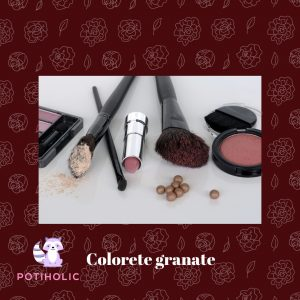 colorete granate blushing