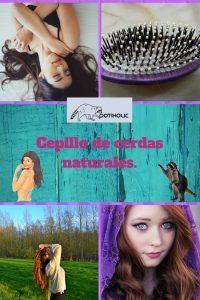 cepillo de cerdas naturales donde comprar y como se usa
