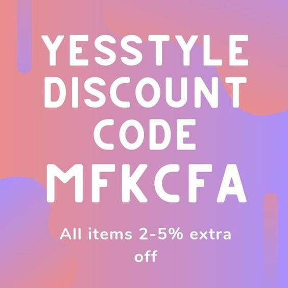 yesstyle descuento