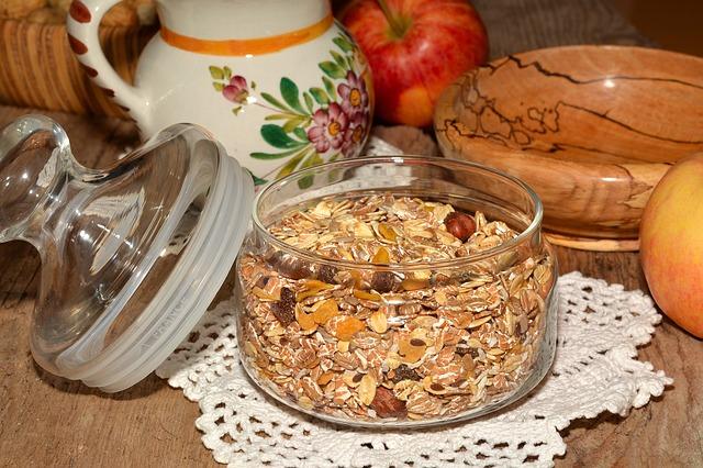 muesli semillas comestibles en realfooding
